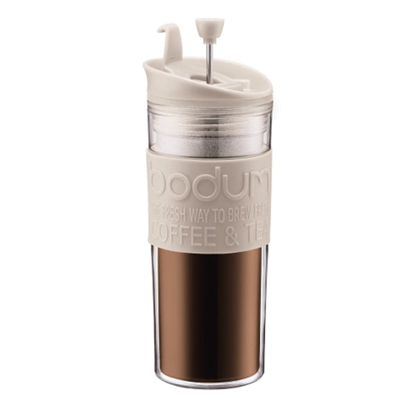 Bodum Travel Coffee Press in White