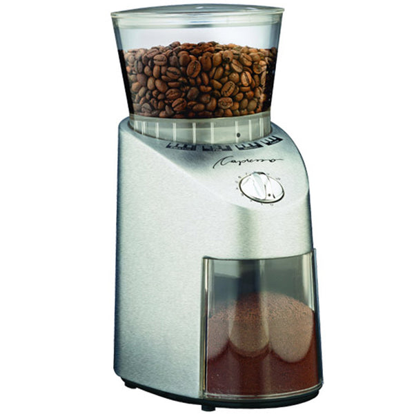 Jura Capresso Infinity Burr Grinder   Stainless Steel Abs Plastic Finish Base