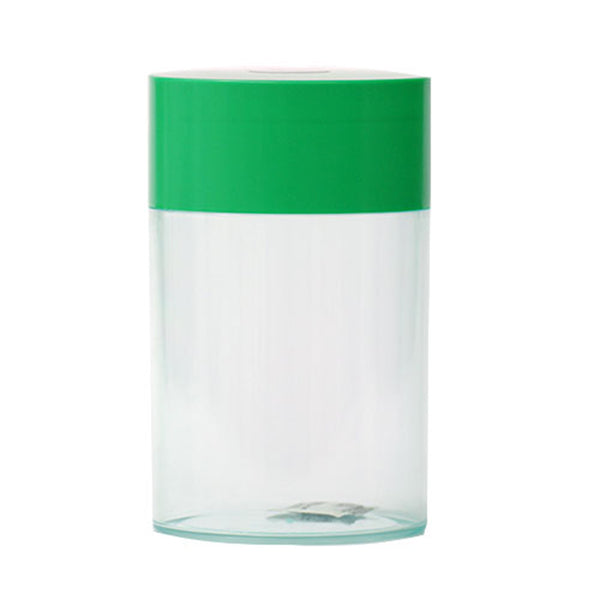 Coffeevac 1lb TTV-1 Storage Container Clear with Green Top