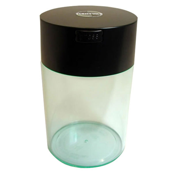 Coffeevac 1lb CFV2 Storage Container Clear with the Logo