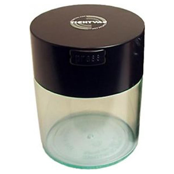 Coffeevac Cfvb 1/2lb Clear Storage Container With Black Top Base