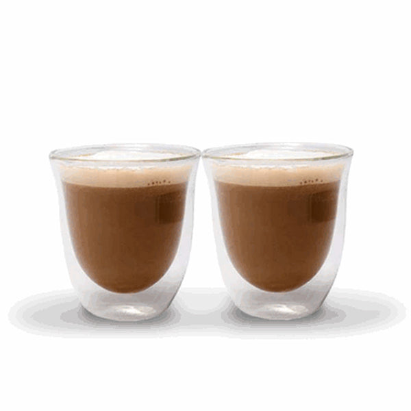 La Cafetiere Jack   Set Of 2 Double Walled Cappuccino Cups Base