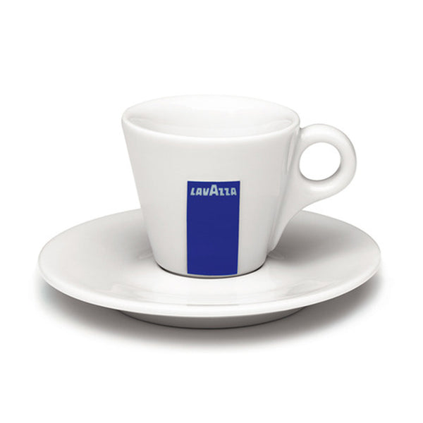 Lavazza Logo Espresso Cup And Saucer Set Base