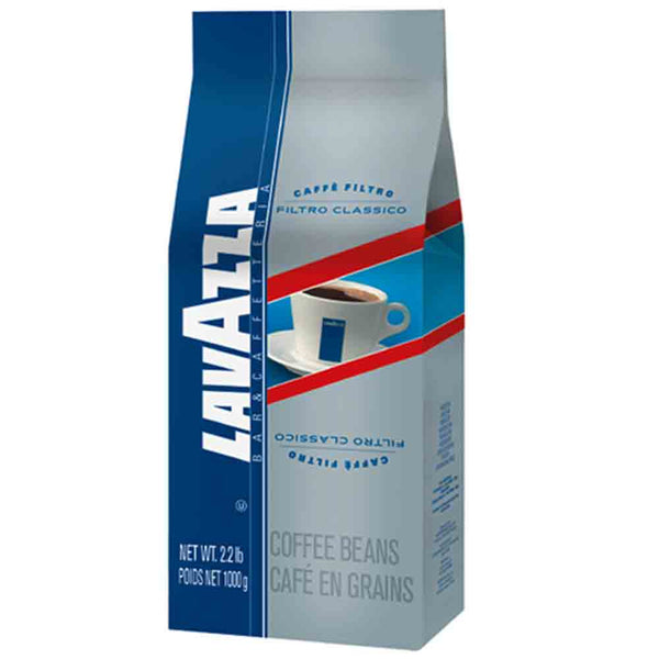 Lavazza Filtro Classico Whole Bean Drip Coffee Base