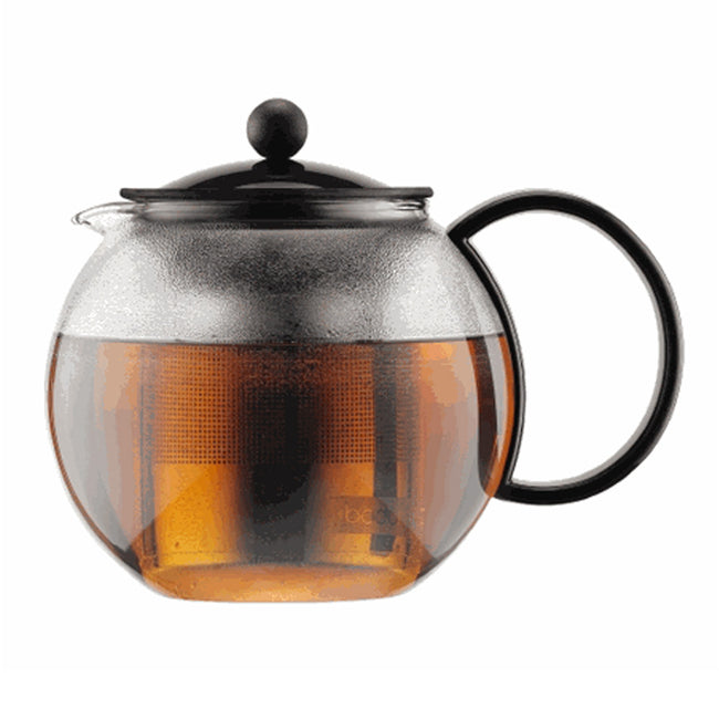 Bodum Assam 34oz Tea Press With Stainless Steel Filter Base