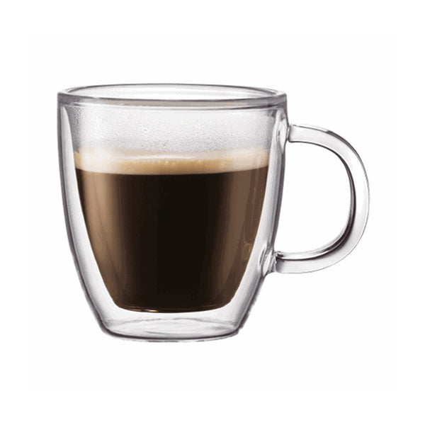 Bodum Bistro 2 Piece 5oz Double Walled Espresso Mug Set Base
