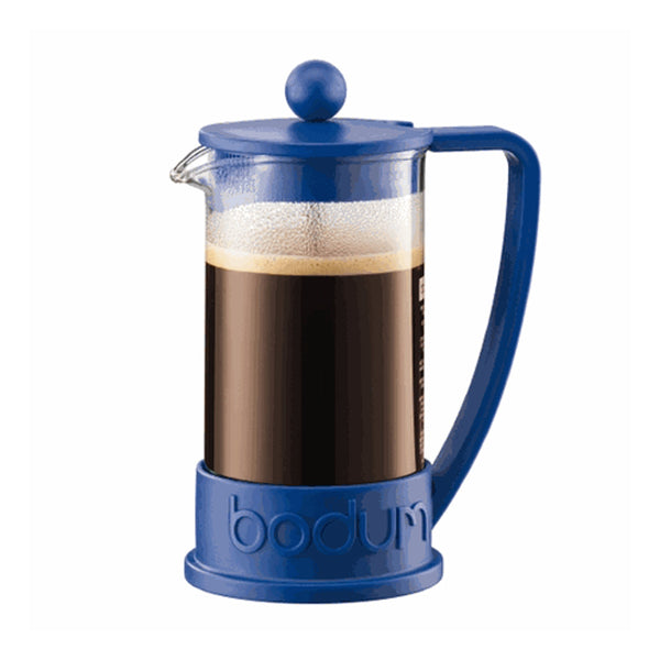 Bodum Brazil 12oz French Press In Blue Base