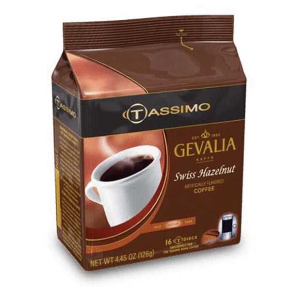 Gevalia Swiss Hazelnut Coffee T Discs Base
