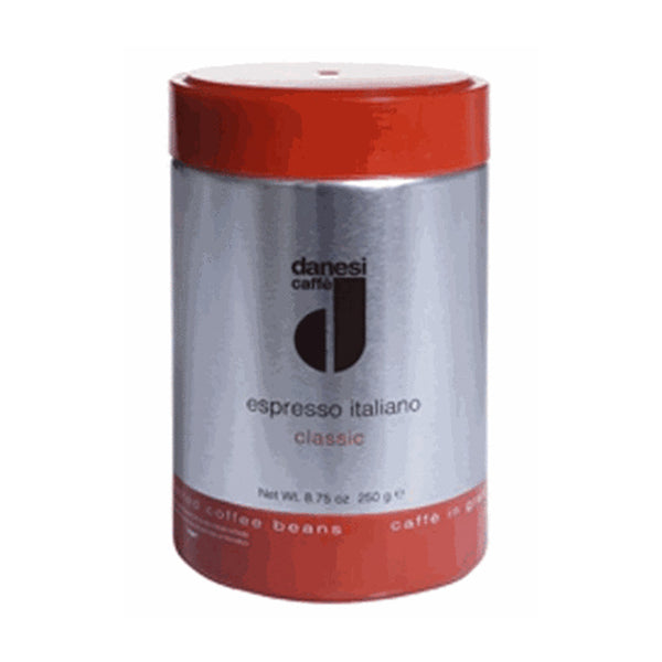 Danesi Caffe Espresso Classic Whole Bean Coffee In Tins Base