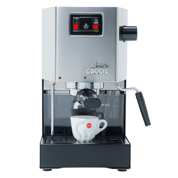 Gaggia Classic Brushed Stainless Steel Semi Automatic