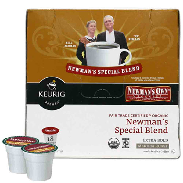 Newman's Own Special Blend Extra Bold K Cup® Packs Base