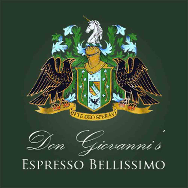 J Martinez Don Giovanni's Espresso Bellisimo Decaf Base