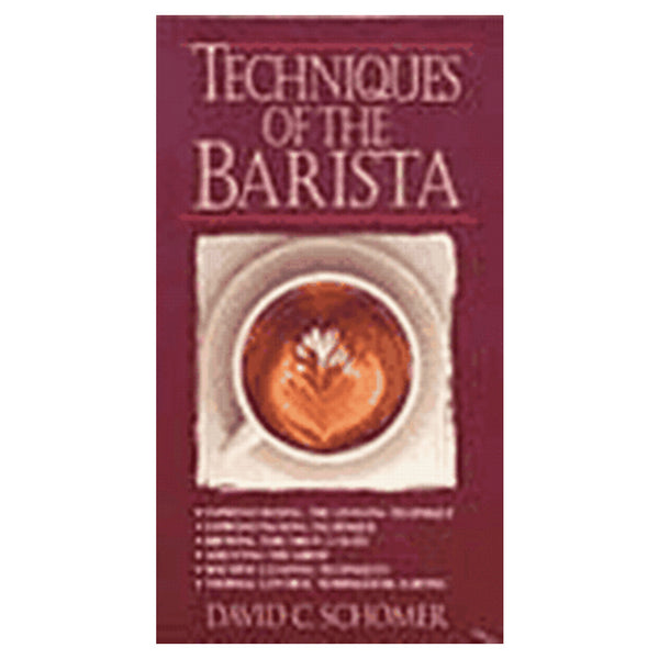 David Schomer's Techniques of the Barista Video VHS