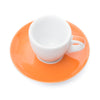 Ancap Verona 1.9oz Espresso Cup and Saucer in Orange