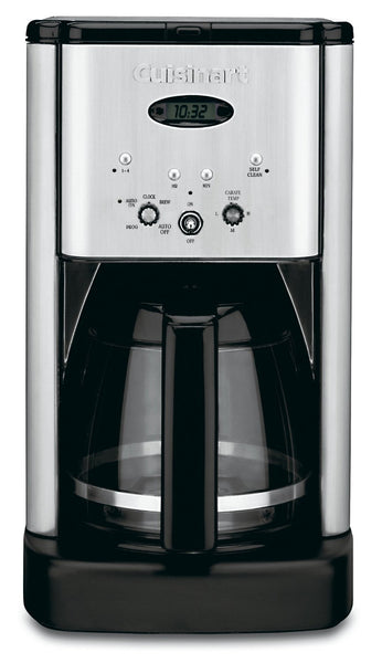 Cuisinart DCC-1200 Brew Central Coffee Maker in Silver