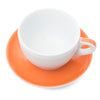 Ancap Verona 8.8oz Cappuccino Cup and Saucer in Orange