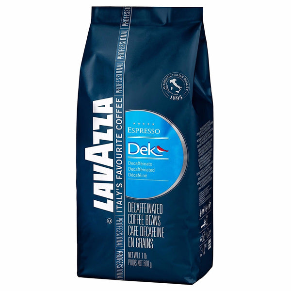 Lavazza Dek Decaf Espresso Whole Bean Coffee Base