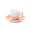 Ancap Verona 2.5oz Espresso Cup and Saucer in Orange