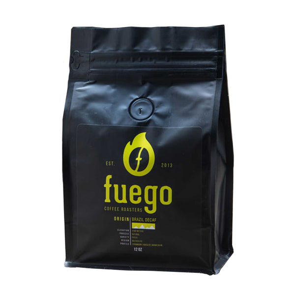 Fuego Coffee Roasters Brazil Decaf