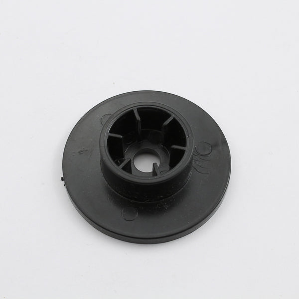Steam Knob Protection Shield, Black Plastic Base
