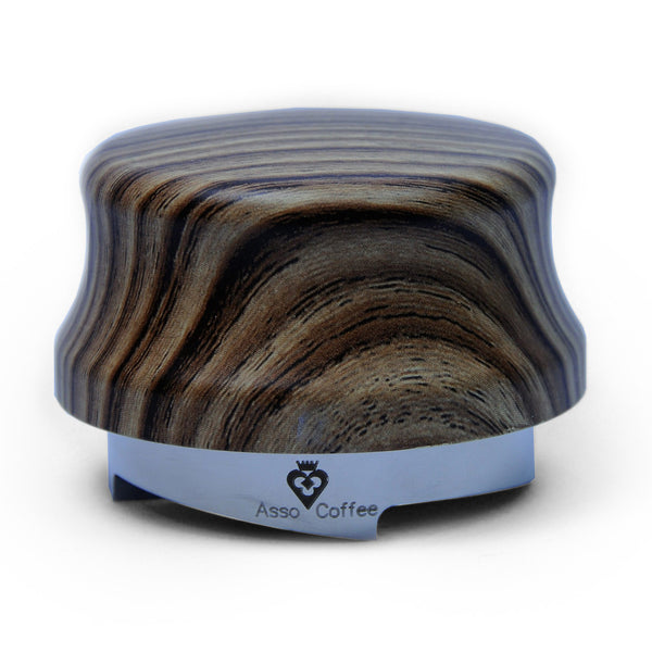 Asso Coffee The Jack Leveler - 58.5mm Zebra Wood