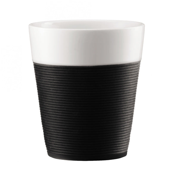 Bodum Bistro 10oz Mug With Black Silicone Sleeve