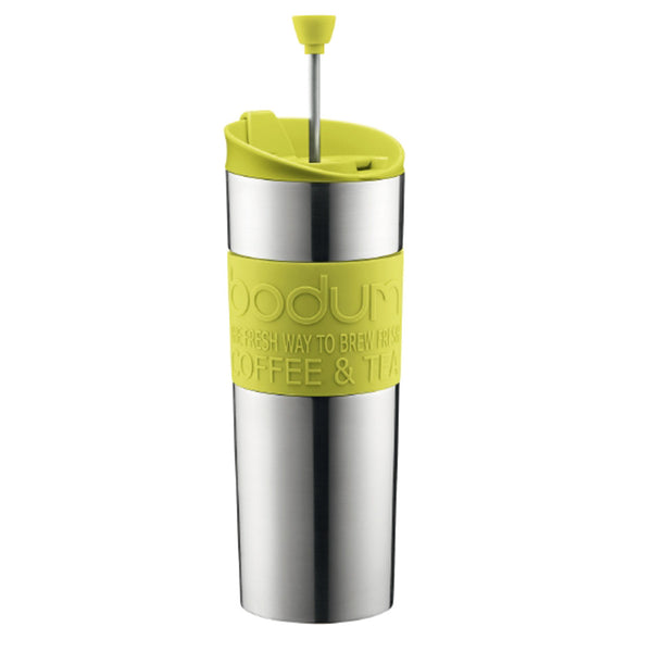 Bodum 15oz Traveling French Press Coffee Maker in Green