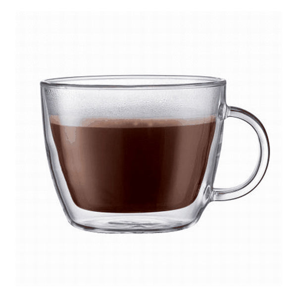 Bodum Bistro Double Wall Mug Set 15 Oz