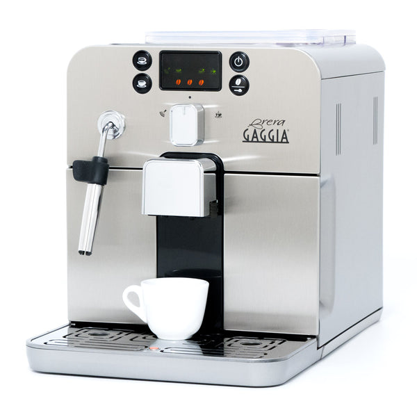 Gaggia Brera Espresso Machine In Silver Whole Latte Love