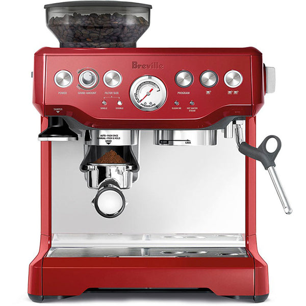 Breville BES870XL Barista Express in Red