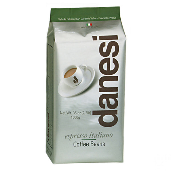 Danesi Caffe Espresso Decaffeinated Whole Bean Coffee in Bags