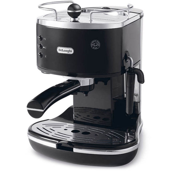 DeLonghi ECO310 Icona Semi-Automatic Espresso Machine in Black
