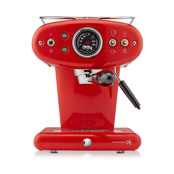 Francis Francis X1 Anniversary 1935 Espresso Machine in Red