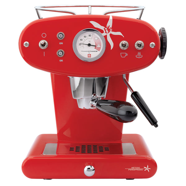 Francis Francis X1  for IperEspresso in Red