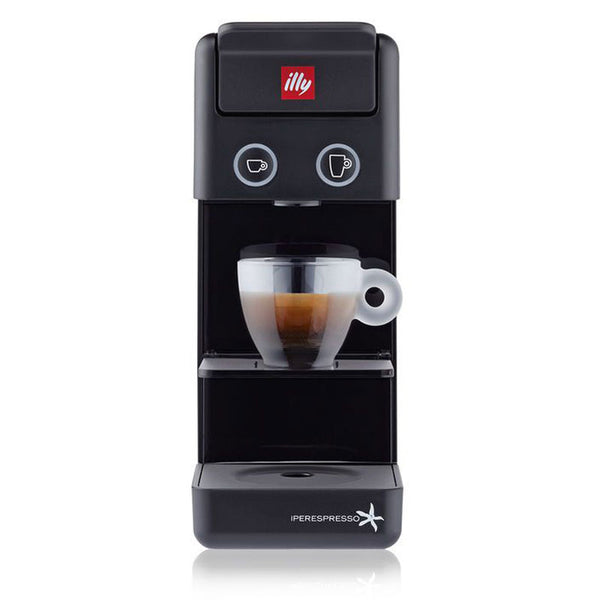illy Y3.2 iperEspresso Espresso & Coffee Machine in Black
