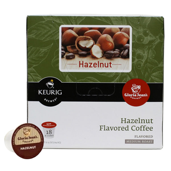 Gloria Jean's Hazelnut K-Cup® Packs