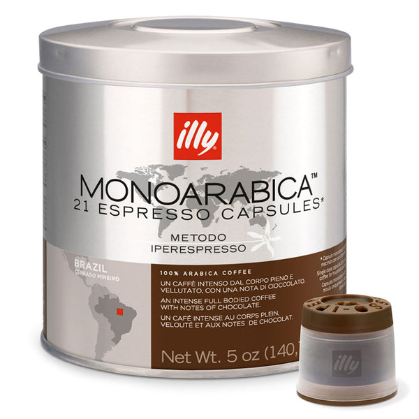 Illy Monoarabica Single Origin Iper Espresso   Brazil Base