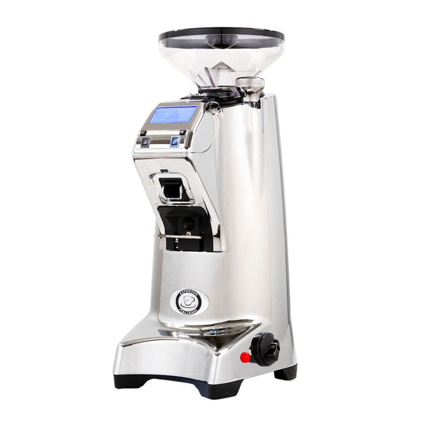 Eureka Olympus 75E High Speed Espresso Grinder in Chrome
