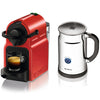 Nespresso Inissia C40 in Red and Aeroccino Plus