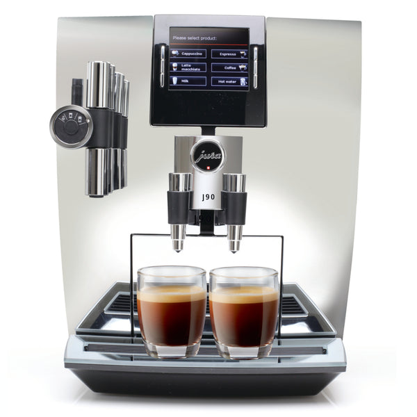 JURA Impressa J90 Espresso Machine in Chrome