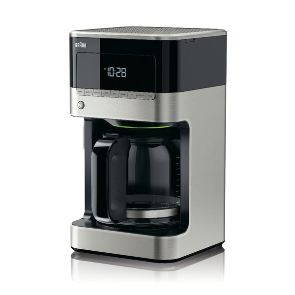 Braun KF7150BK BrewSense Coffee Maker in Black/Stainless