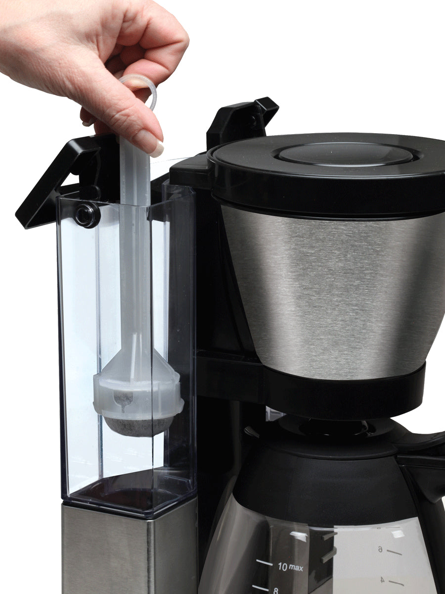 Capresso MG900 10-Cup Rapid Brew Coffee Maker with Glass Carafe /& Removable Wate