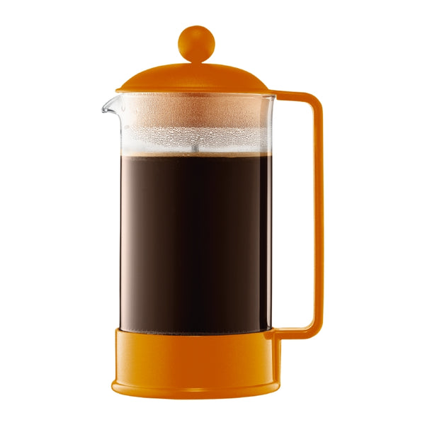 Bodum 8-cup Brazil French Press in Orange