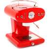 Refurbished FrancisFrancis! X1 Red with Brass Boiler and Pod Coffee Handle