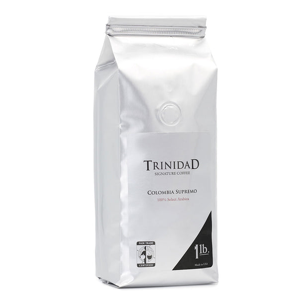 Trinidad Coffee 100% Colombia 1 Lb Ground Base
