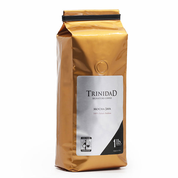 Trinidad Coffee Mocha Java 1 Lb Ground Base