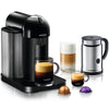 Nespresso VertuoLine in Black and Aeroccino Plus