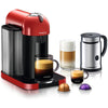 Nespresso VertuoLine in Red and Aeroccino Plus
