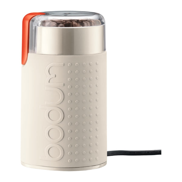 Bodum Bistro Blade Coffee Grinder in White