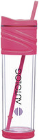 16 oz Melrose Acrylic Tumbler with Swivel Lid and Straw
